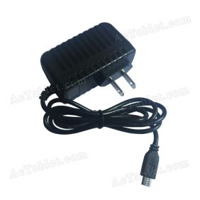 5V Power Supply Charger for iRola DX758 Pro 7 Inch Quad Core Tablet PC
