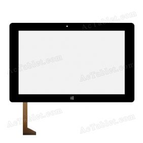 Digitizer Touch Screen Replacement for TrekStor SurfTab twin 10.1 ST10432-8 Z3735F Tablet PC