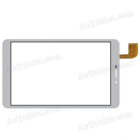 Digitizer Touch Screen Replacement for MLS iQTab Shot 3G 8 Inch Tablet PC