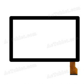 F-WGJ10386-V2 Digitizer Glass Touch Screen Replacement for 10.1 Inch MID Tablet PC