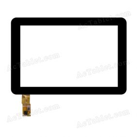 F-WGJ10206-V4 Digitizer Glass Touch Screen Replacement for 10.1 Inch MID Tablet PC