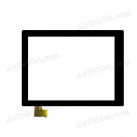 F-WGJ97122-V1B Digitizer Glass Touch Screen Replacement for 9.7 Inch MID Tablet PC