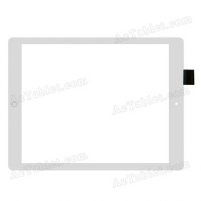 C164231A2-DRFPC273T-V2.0 Digitizer Glass Touch Screen Replacement for 9.7 Inch MID Tablet PC