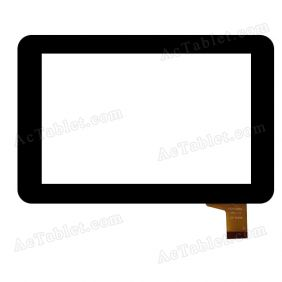 VTCP070B62FPC-1.0 Digitizer Glass Touch Screen Replacement for 7 Inch MID Tablet PC