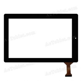 VTCP101A55-FPC-1.0 Digitizer Glass Touch Screen Replacement for 10.1 Inch MID Tablet PC