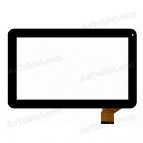 QLT 1007 XT Digitizer Glass Touch Screen Replacement for 10.1 Inch MID Tablet PC
