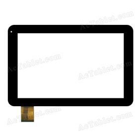 SG5660A-FPC_V1-1 Digitizer Glass Touch Screen Replacement for 10.1 Inch MID Tablet PC