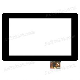 SG5370A-FPC-V0 Digitizer Glass Touch Screen Replacement for 7 Inch MID Tablet PC