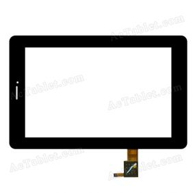 SG5578-FPC_V2-1 Digitizer Glass Touch Screen Replacement for 7 Inch MID Tablet PC
