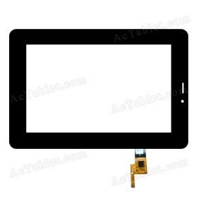SG5801A-FPC_V1-1 Digitizer Glass Touch Screen Replacement for 7 Inch MID Tablet PC