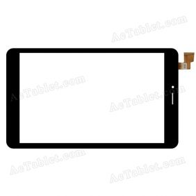 SG8152-FPC_V1-3 Digitizer Glass Touch Screen Replacement for 8 Inch MID Tablet PC