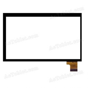 SG6032A-FPC_V2-1 Digitizer Glass Touch Screen Replacement for 7 Inch MID Tablet PC
