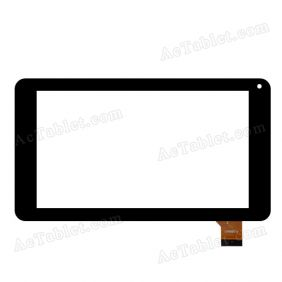 LH5920 JQ7055FP-02 Digitizer Glass Touch Screen Replacement for 7 Inch MID Tablet PC
