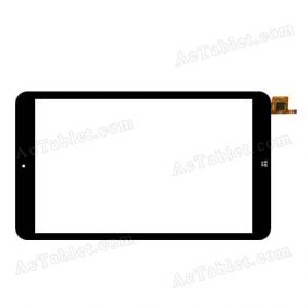 MB802T5 HLD-PG804S GT911 Digitizer Glass Touch Screen Replacement for 8 Inch MID Tablet PC