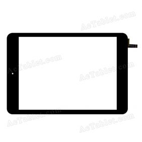 80701-0A4821R Digitizer Glass Touch Screen Replacement for 8 Inch MID Tablet PC