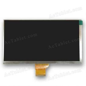 Digital FPC-Y83476 V03 Inner LCD Display Screen for 7 Inch Android Tablet PC Replacement