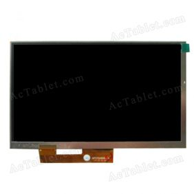 YQL070DMP-K Inner LCD Display Screen for 7 Inch Android Tablet PC Replacement