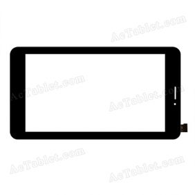 C187106A1-FPC735DR-02 Digitizer Glass Touch Screen Replacement for 7 Inch MID Tablet PC