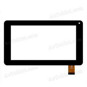 GKG0472A Digitizer Glass Touch Screen Replacement for 7 Inch MID Tablet PC