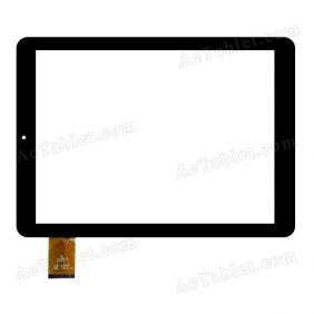 QSD 701-97059-02 Digitizer Glass Touch Screen Replacement for 9.7 Inch MID Tablet PC