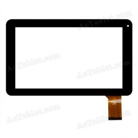 QSD E-C9005-04 Digitizer Glass Touch Screen Replacement for 9 Inch MID Tablet PC