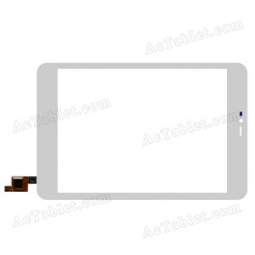 GFT079ST002-FPC-V1.0 Digitizer Glass Touch Screen Replacement for 7.9 Inch MID Tablet PC