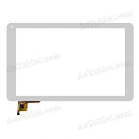 QSD 702-10077-01 Digitizer Glass Touch Screen Replacement for 10.1 Inch MID Tablet PC