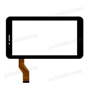 YTG-P70030-F1 Digitizer Glass Touch Screen Replacement for 7 Inch MID Tablet PC