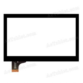 HOTATOUCH DRFPC012T Digitizer Glass Touch Screen Replacement for 7 Inch MID Tablet PC