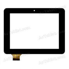 C177137A1-PG FPC647DR-03 Digitizer Glass Touch Screen Replacement for 7 Inch MID Tablet PC