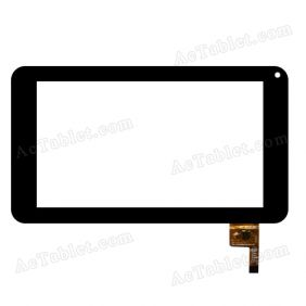 FPC-TP070091(DR1334)-00 Digitizer Glass Touch Screen Replacement for 7 Inch MID Tablet PC