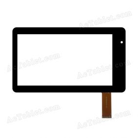 FPC-F70CTP001-02 Digitizer Glass Touch Screen Replacement for 7 Inch MID Tablet PC