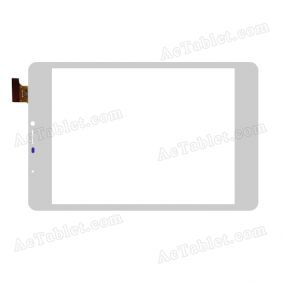 FPC-TP750001 Digitizer Glass Touch Screen Replacement for 7.5 Inch MID Tablet PC
