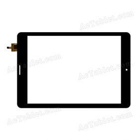 AD-C-781070-GG-CT362 Digitizer Glass Touch Screen Replacement for 7.9 Inch MID Tablet PC