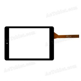 C197134A6-FPC776DR Digitizer Glass Touch Screen Replacement for 7.9 Inch MID Tablet PC