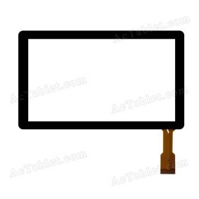 CN009C0700-FPC-V0 Digitizer Glass Touch Screen Replacement for 7 Inch MID Tablet PC