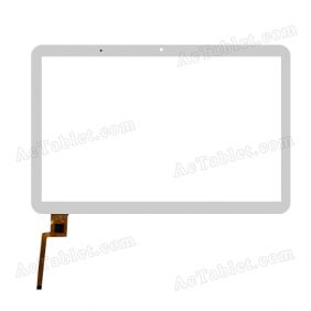 F-WGJ10157-V5 Digitizer Glass Touch Screen Replacement for 10.1 Inch MID Tablet PC