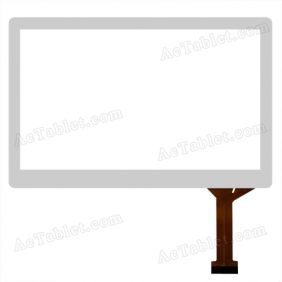 VTCG070B76-FPC-1.0 Digitizer Glass Touch Screen Replacement for 7 Inch MID Tablet PC