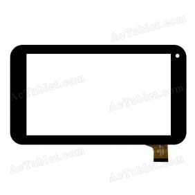 MGL TCLHCTP-196A Digitizer Glass Touch Screen Replacement for 7 Inch MID Tablet PC