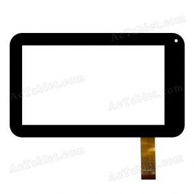 ZCC-1934 V1 Digitizer Glass Touch Screen Replacement for 7 Inch MID Tablet PC