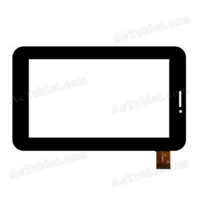 LKW0114 V1.0 Digitizer Glass Touch Screen Replacement for 7 Inch MID Tablet PC