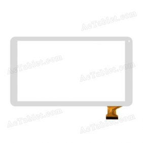 HXD-1027 Digitizer Glass Touch Screen Replacement for 10.1 Inch MID Tablet PC