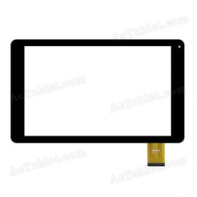 WJ922-FPC V1.0 Digitizer Glass Touch Screen Replacement for 10.1 Inch MID Tablet PC