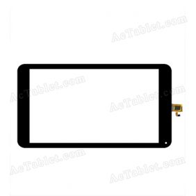 DXP1-0623-101A Digitizer Glass Touch Screen Replacement for 10.1 Inch MID Tablet PC