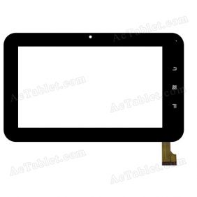 DHX-X7FPC HXD02 Digitizer Glass Touch Screen Replacement for 7 Inch MID Tablet PC