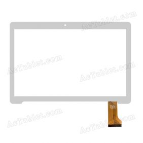 YTG-G97031-F1 Digitizer Glass Touch Screen Replacement for 9.6 Inch MID Tablet PC
