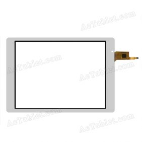 OLM-097D1348-FPC Digitizer Glass Touch Screen Replacement for 10.1 Inch MID Tablet PC
