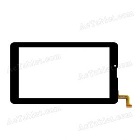 DP070023-F1 Digitizer Glass Touch Screen Replacement for 7 Inch MID Tablet PC