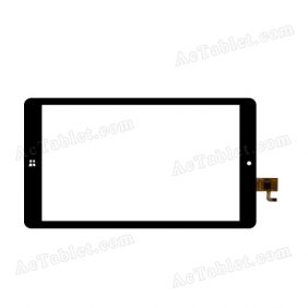 HK80DR2505-V01 Digitizer Glass Touch Screen Replacement for 8 Inch MID Tablet PC