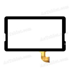 HN 1032-FPC D28XR118 Digitizer Glass Touch Screen Replacement for 10.6 Inch MID Tablet PC